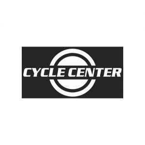 Cycle Centerin logo. Logoa klikkaamalla päädyt yrityksen kotisivuille.